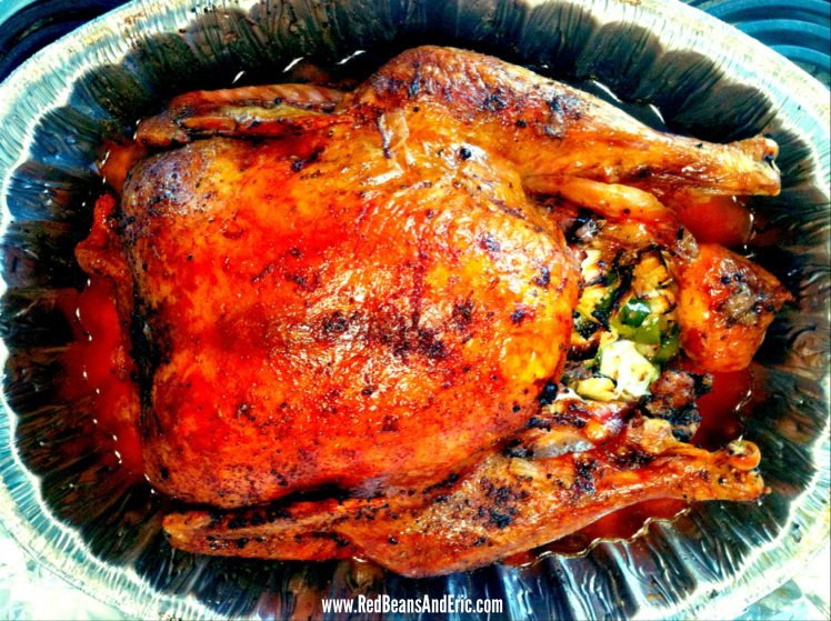 Creole Roasted Turkey and Holy Trinity Stuffing with Da Pope and the Hot Nuns by Red Beans and Eric