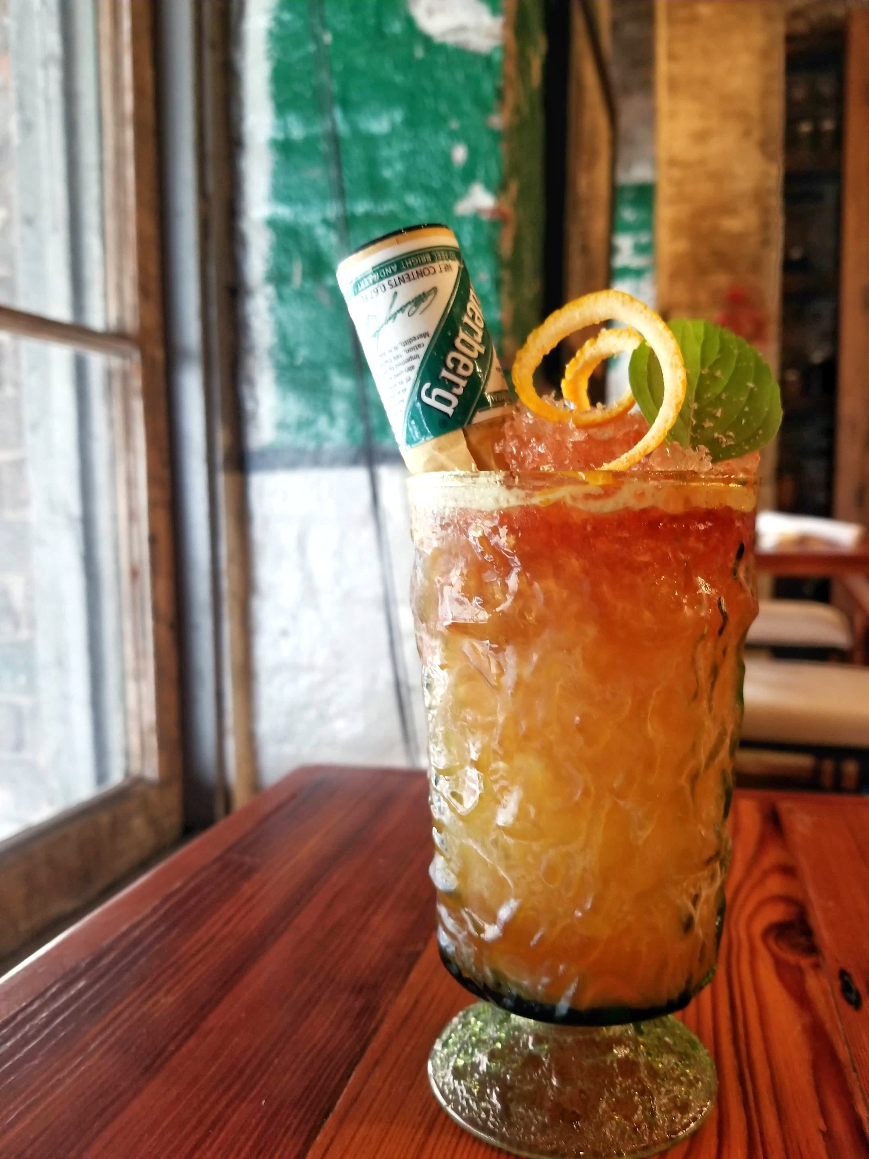 Underberg Sour Cocktail from Sac-a-Lait