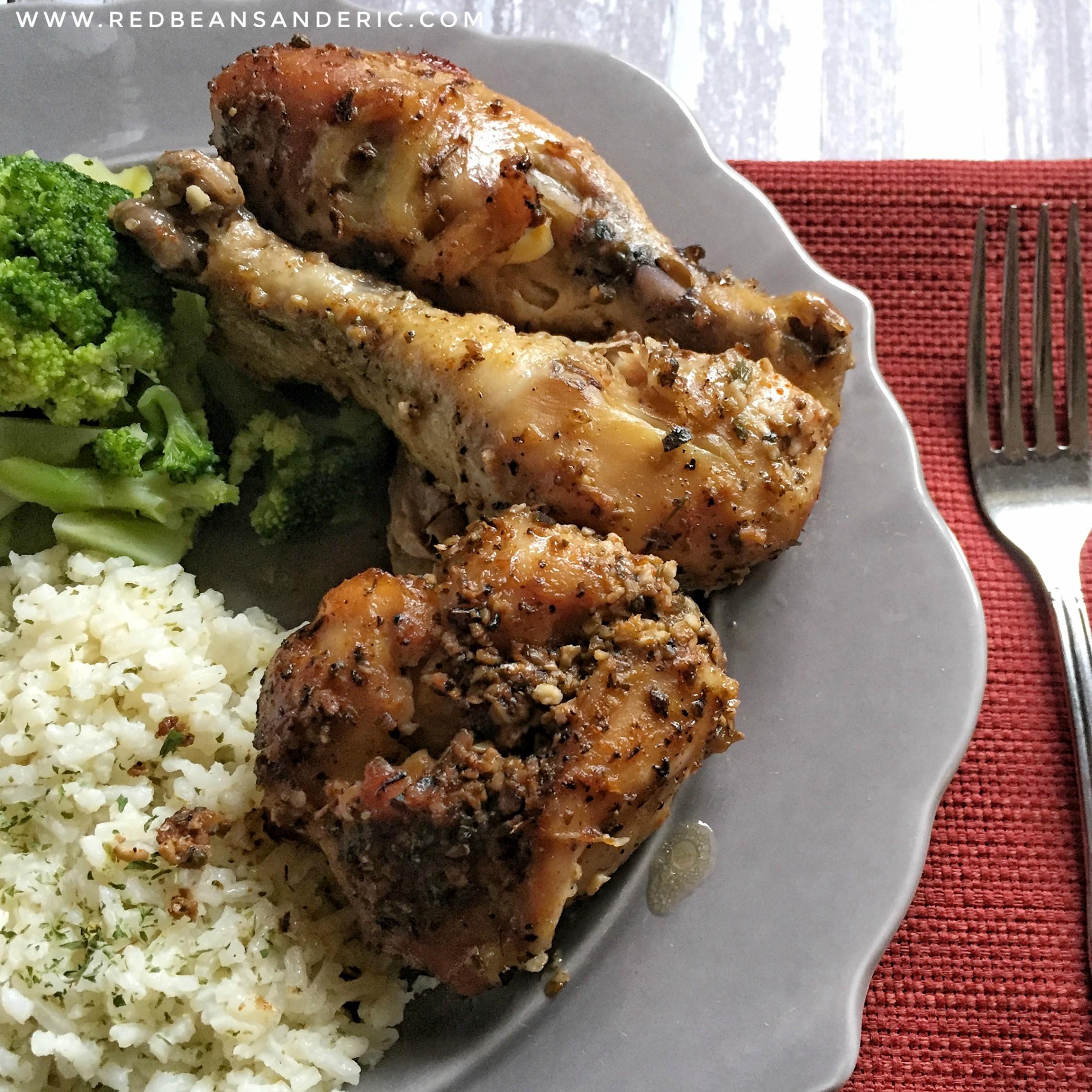 Chicken Drumsticks Da Pope and the Health Benefits of Garlic