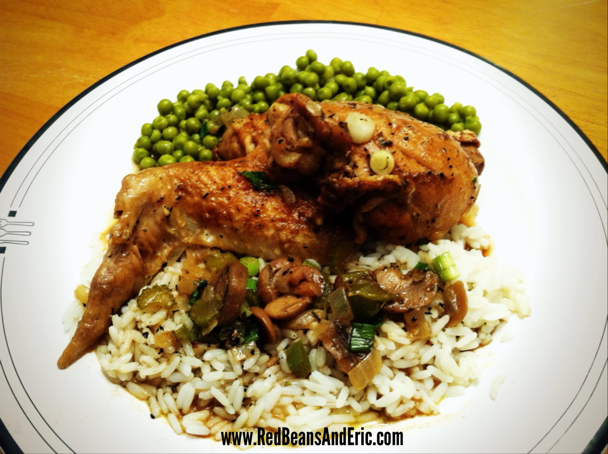 New Orleans Style Stewed Chicken