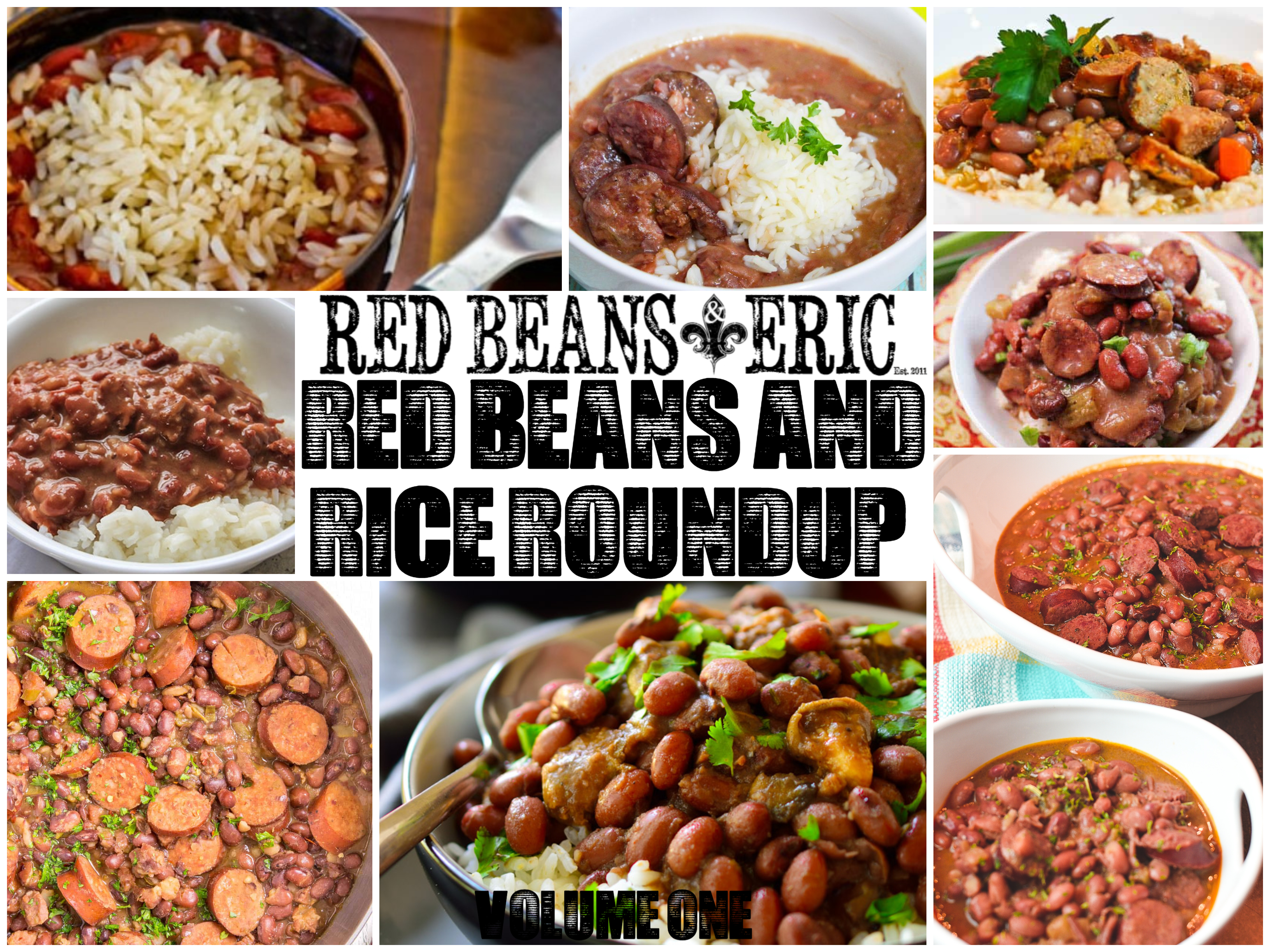 Red Beans and Rice Recipe Roundup – Volume 1