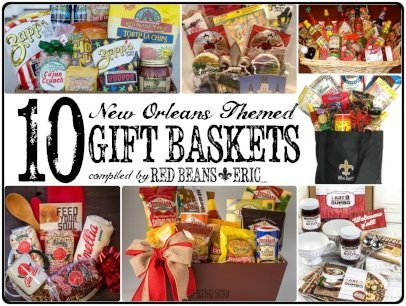 10 New Orleans Themed Gift Baskets Spring 2019