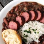 Author Kit Wohl's Red Beans and Rice