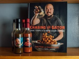 Chef Isaac Toups cookbook Chasing the Gator