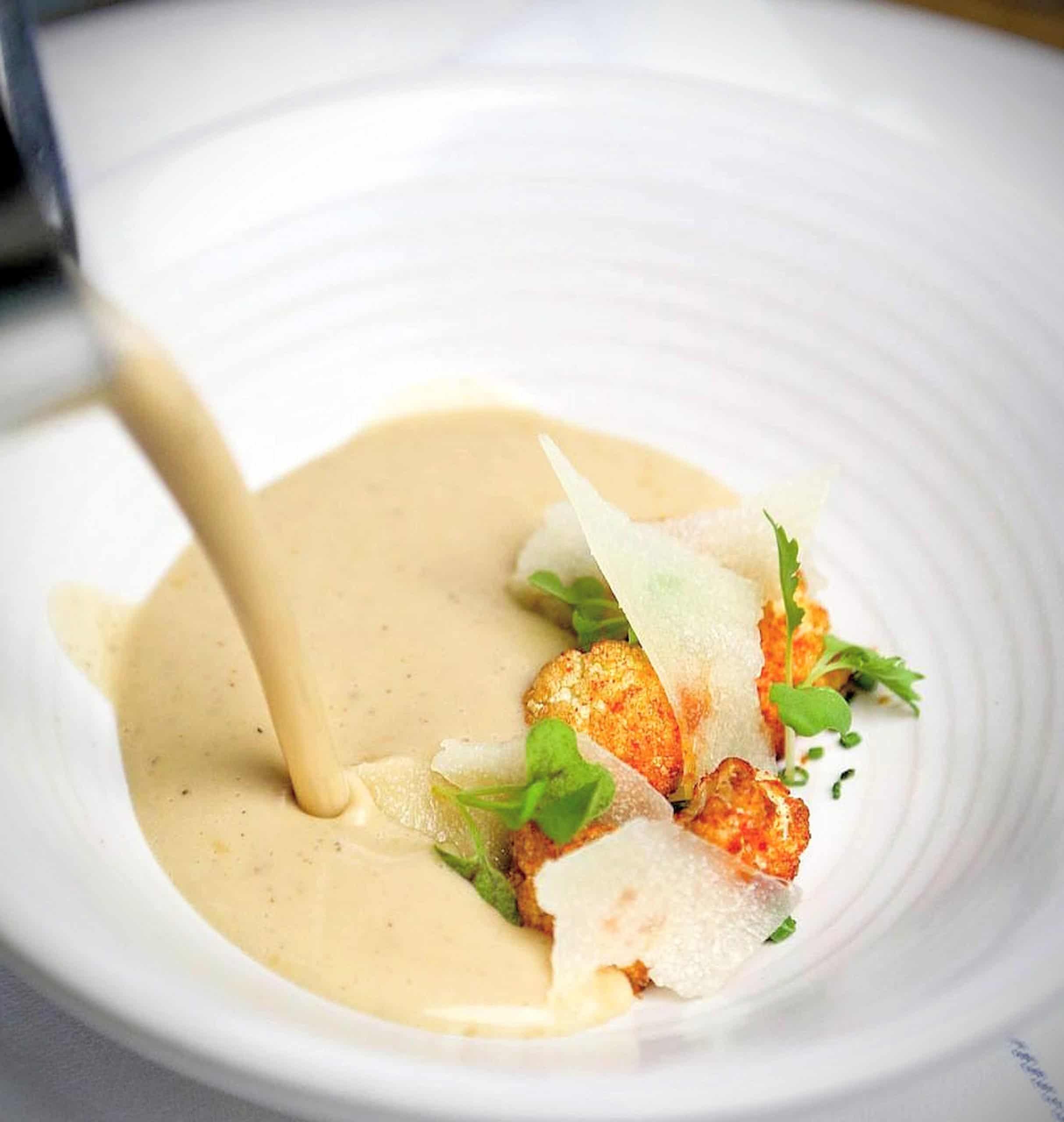 Chef Brian Landy's Garlic Bread Soup