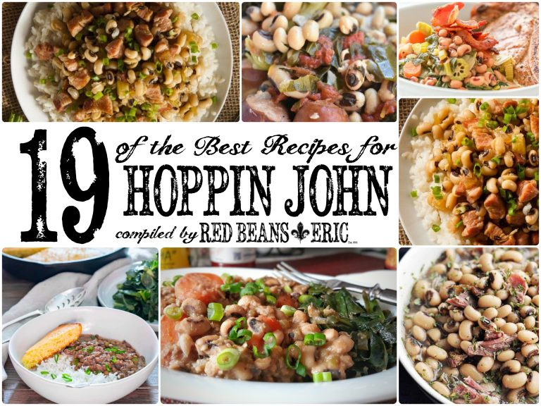 19 of the best recipes for Hoppin John compiled by Red Beans and Eric