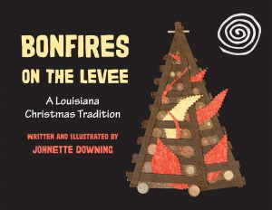 Bonfire on the Levee by Johnette Downing
