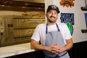 NOLA Pizza culinary director Brandon Byrd