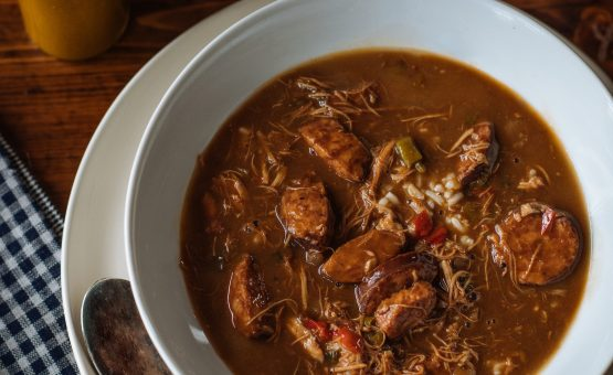 Chicken and Sausage Gumbo from Toups Meatery