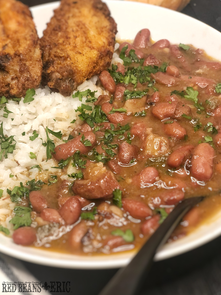 New Orleans Style Red Beans and Rice with Pickled Pork by Red Beans and Eric