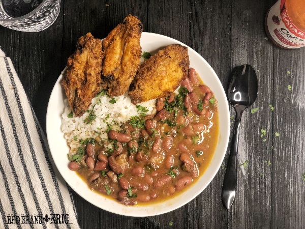 Red Beans and Rice with Pickled Pork by Red Beans and Eric