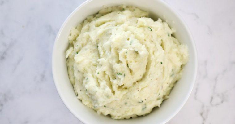 Creamy Mashed Potatoes with Mayonnaise