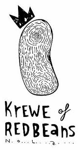 Logo for the Krewe of Red Beans